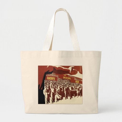 The Original Angry Mob Tote Bags