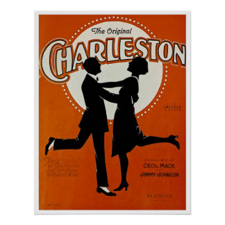 The Original Charleston Poster
