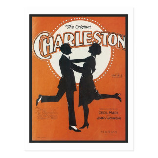 The Original Charleston Vintage Songbook Cover Post Card