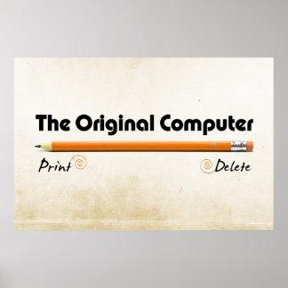 The Original Computer Poster