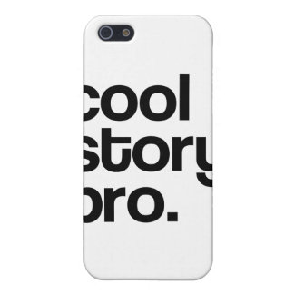 THE ORIGINAL COOL STORY BRO iPhone 5/5S CASES