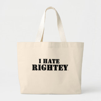 The original I Hate Rightey Tote