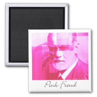 The Original Pink Freud Magnet
