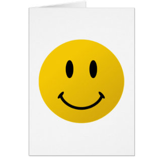 The Original Smiley Face Card