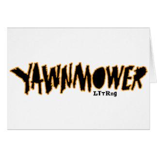 The ORIGINAL YaWNMoWeR ®1993 Card