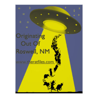 The Originating Out of Roswell Poster