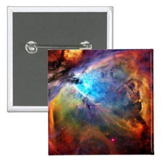 The Orion Nebula 15 Cm Square Badge