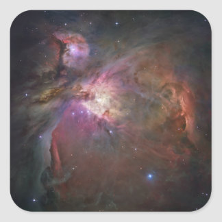 The Orion Nebula 2 Square Sticker