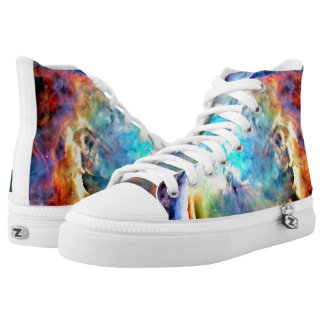 The Orion Nebula Printed Shoes