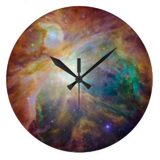 The Orion Nebula Wall Clocks