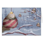 The Ornament Birds Greeting Card