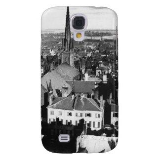 The ornamented spire of a church in Boston Samsung Galaxy S4 Case