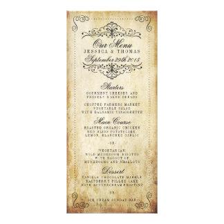 The Ornate Flourish Vintage Wedding Collection Rack Cards