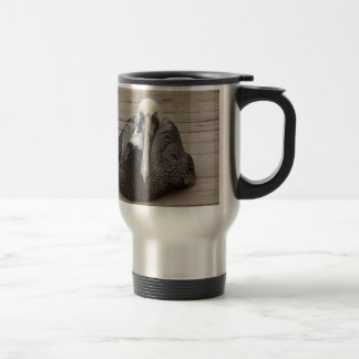 The Ornery Pelican Travel Mug