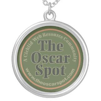 The Oscar Spot Round Pendant Necklace