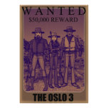 The Oslo 3 Posters