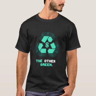 The Other Green. (mens black) T-Shirt