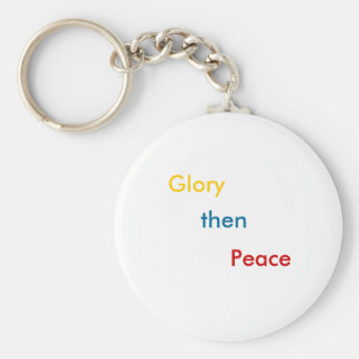 THE OTHER HALF BASIC ROUND BUTTON KEY RING