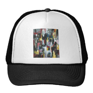 The Other Night ( abstract expressionism) Mesh Hat