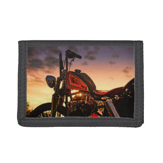 The other sunset chopper wallet