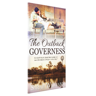 The Outback Governess Canvas