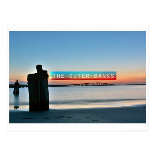 The Outer Banks. Postcards