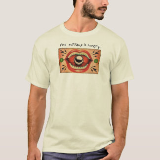 The outlane is hungry. T-Shirt