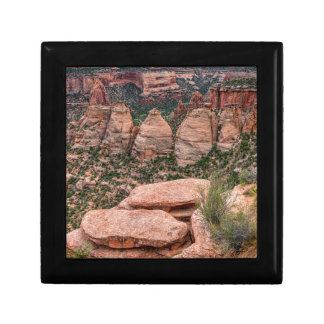 The Ovens Rock Formation Western Landscape Gift Box