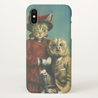 The Owl And The Pussy Cat iPhone X Case