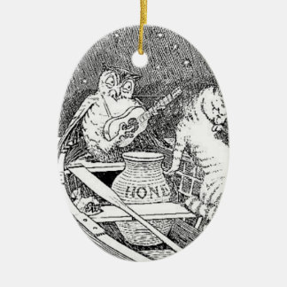 """""""The Owl and the Pussycat""""  Ornament"""