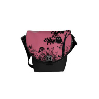 the owl messenger bags
