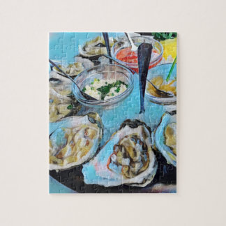 The Oyster Tray Jigsaw Puzzle