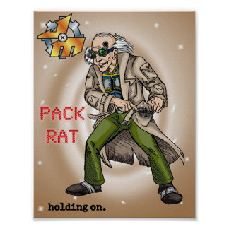 The Pack Rat Poster