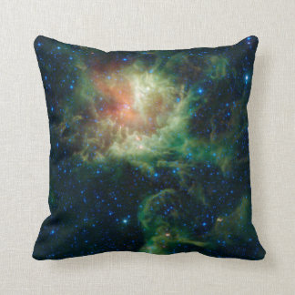 The Pacman/Flaming Star Nebula Pillow