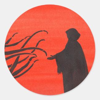 The Pact Round Sticker