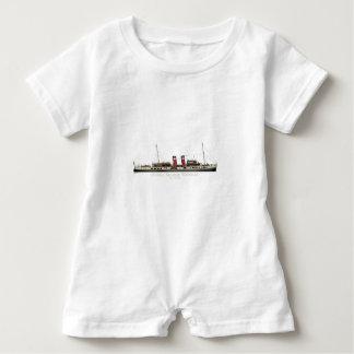 The Paddle Steamer Waverley by Tony Fernandes Baby Bodysuit
