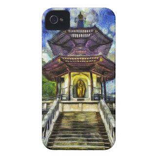 The Pagoda Van Gogh iPhone 4 Cover