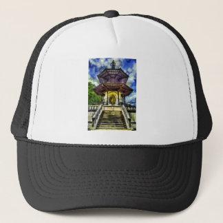The Pagoda Van Gogh Trucker Hat