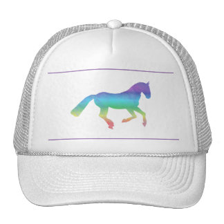 The painted horse cap