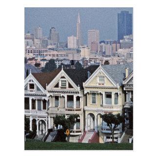 The Painted Ladies San Francisco Postcard