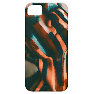 The Painted Lady of the Tigers and Waves iPhone 5 Cover