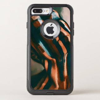 The Painted Lady of the Tigers and Waves OtterBox Commuter iPhone 8 Plus/7 Plus Case