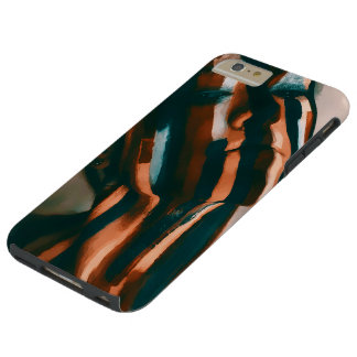 The Painted Lady of the Tigers and Waves Tough iPhone 6 Plus Case