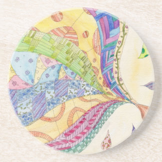 The Painted Quilt Coaster