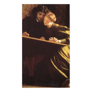 The Painter's Honeymoon - Lord Frederic Leighton Business Cards