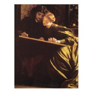 The Painter's Honeymoon - Lord Frederick Leighton Postcard