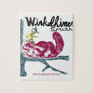 The Painting Squirrel,Winkelhimer Smith Puzzles