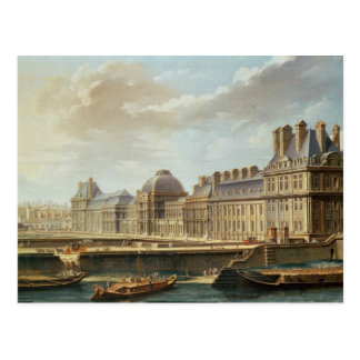 The Palace and Garden of the Tuileries, 1757 Postcard