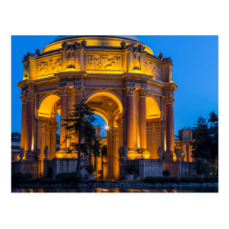The Palace Of Fine Arts At Dawn Postcard