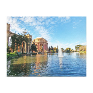 The Palace of Fine Arts California Canvas Print